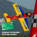 Akrobatsko letenje - Giles G202 - Spar klub