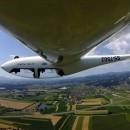 Akrobatsko letenje - G103 Twin II - 1350 m