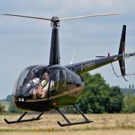 Polet s helikopterjem - Robinson R44