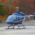 Polet s helikopterjem - Bell 206